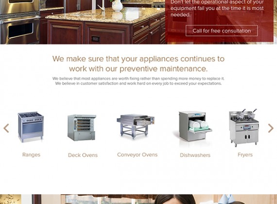 Miracle Service Kitchen Repair - Custom A Design Website