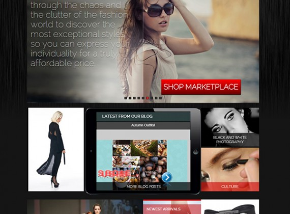 Subscribe To Fashion - Custom A Design Website